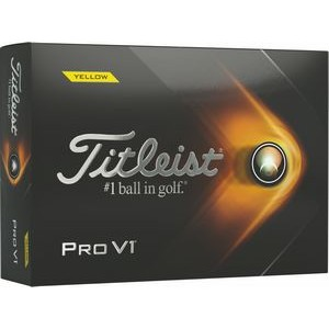 Titleist - Pro V1 - Yellow - T2127S-BIL (Factory Direct)